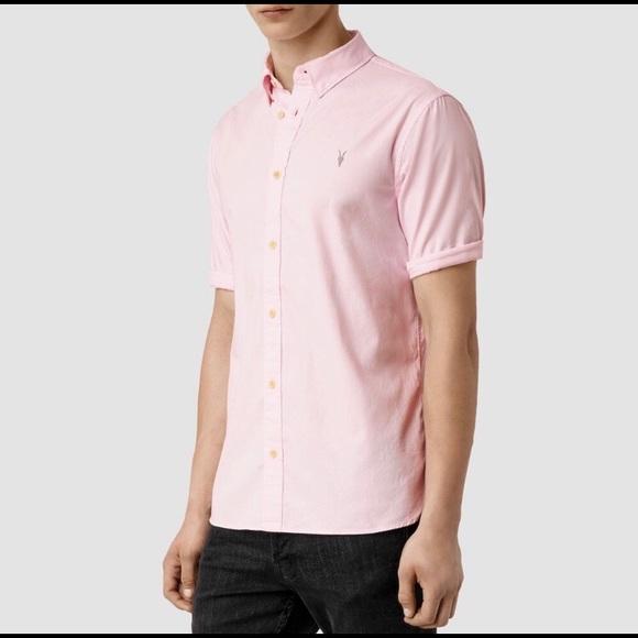 4b257be25c5 Allsaints short sleeve button up shirt